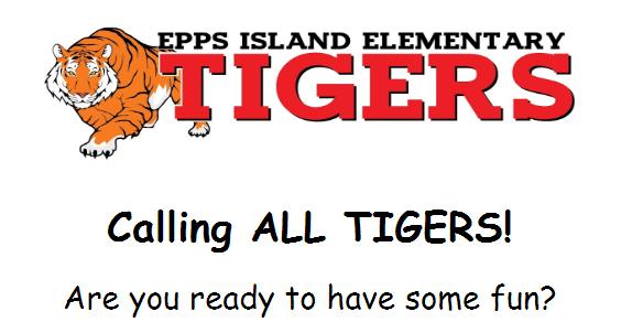 Epps Island Tiger Bingo